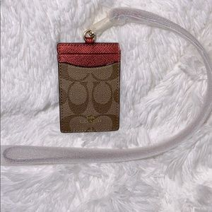 Coach | ID LANYARD IN SIGNATURE CANVAS 💋